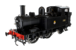 7S-006-021 Dapol 14xx Class BR Early Crest Black 1405 Auto Fitted Top Feed